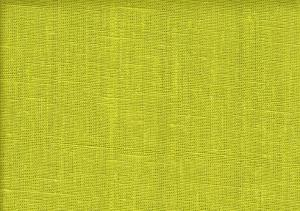 Pure Linen Fabric lime green color 026