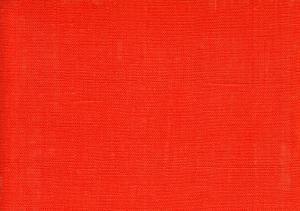 Pure Linen Fabric orange color 9
