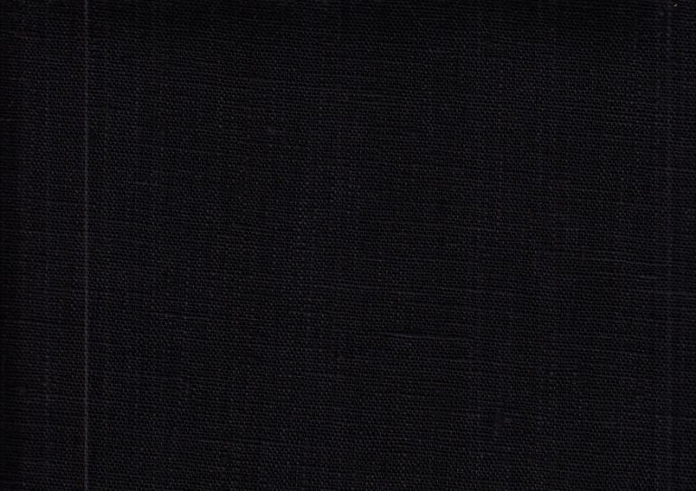 Pure Linen Fabric black color 147