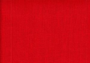 Pure Linen Fabric red color 237