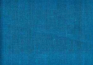 Pure Linen Fabric dark turquoise color 386