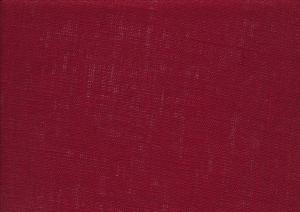 Pure Linen Fabric wine red color 511
