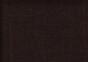 Pure Linen Fabric drak brown color 551