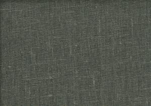 Pure Linen Fabric grey green color 592