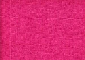 Pure Linen Fabric fushia color 672