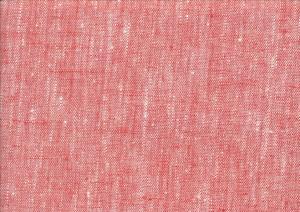 Pure Linen Fabric melange orange color M10