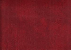 Faux - leather wine red