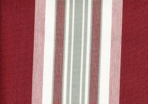 Awning Fabric wine/white
