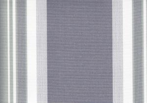 Awning Fabric grey/white