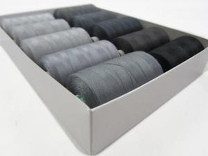 Trådpaket grå (10 rullar)