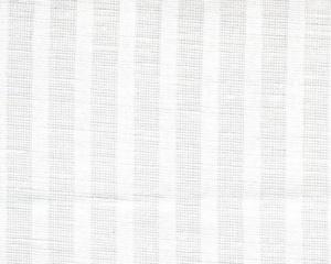 Cotton Linen Fabric Stripe white