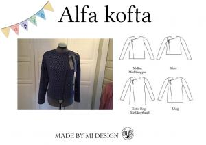 Alfa Women's Cardigan - Made by Mi