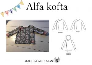 Alfa Children's Cardigan - Made by Mi