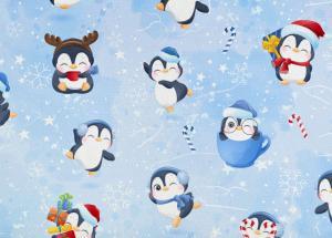 FÖRBOKNING - T6206 Joggingtyg Söta pingviner