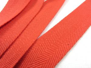B006 Herringbone Twill Tape 20 mm ginger