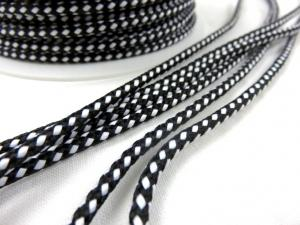 B1000 Paracord 4 mm black/white