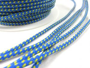 B1000 Paracord 4 mm blue/yellow