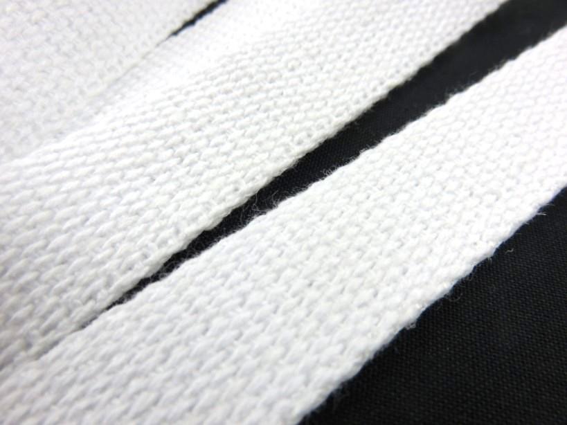 B1100 Kraftigt bomullsband 20 mm vit