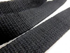 B1100 Canvas Webbing 25 mm black
