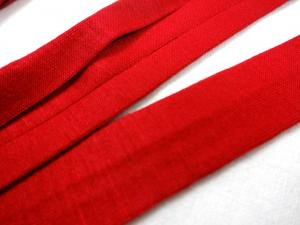 B1200 Jersey Bias Binding Tape 20 mm red