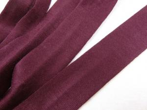 B1200 Jersey Bias Binding Tape 20 mm wine red