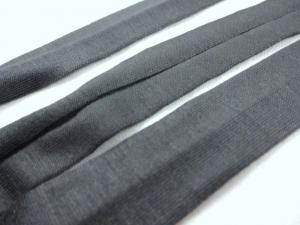 B1200 Jersey Bias Binding Tape 20 mm dark grey