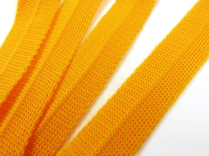 B123 Knitted Binding 15 mm yellow