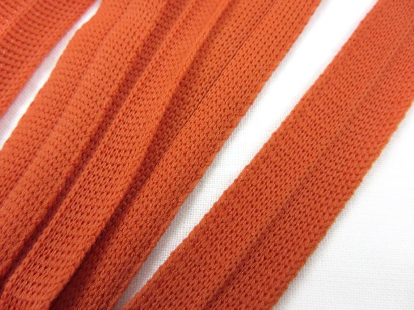 B123 Knitted Binding 15 mm terracotta
