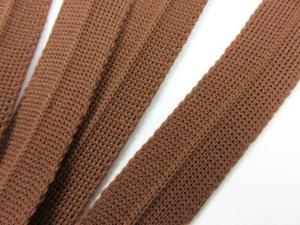 B123 Knitted Binding 15 mm brown