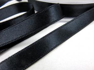 B1400 Satinband 10 mm svart