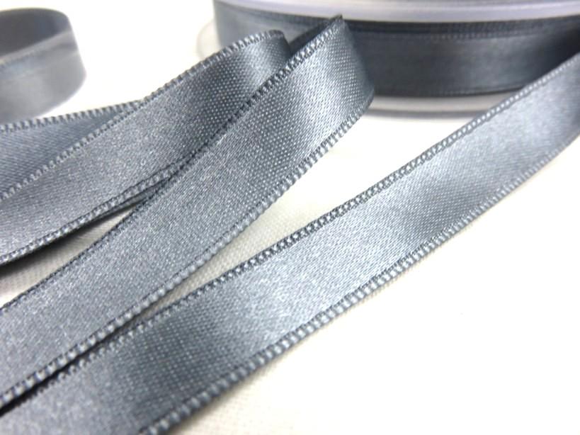 B1400 Satinband 10 mm grå