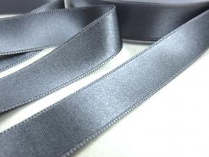 B1400 Satinband 16 mm grå