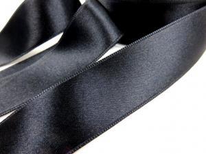 B1400 Satinband 25 mm svart