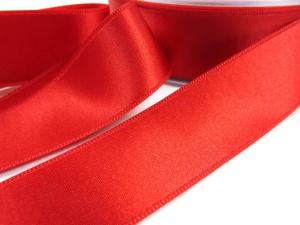B1400 Satinband 25 mm röd