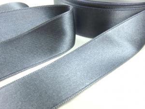B1400 Satinband 25 mm grå