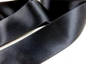 B1400 Satinband 38 mm svart