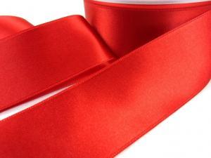 B1400 Satinband 38 mm röd