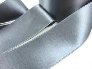 B1400 Satinband 38 mm grå