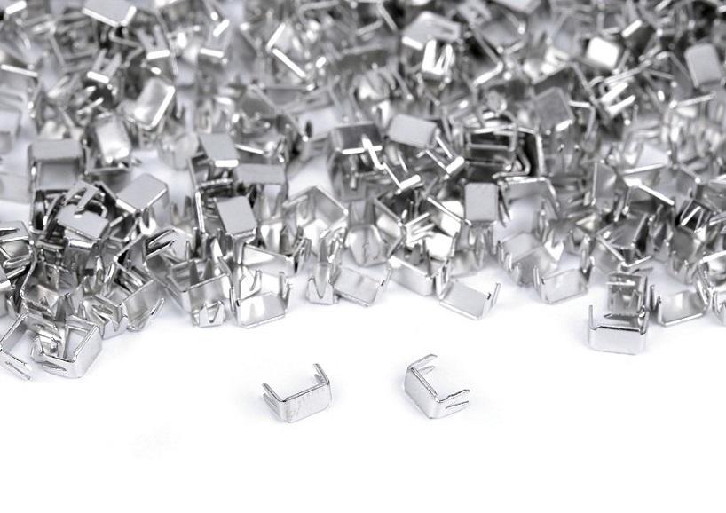 D151 Zipper Bottom Stopper 3 mm nickel