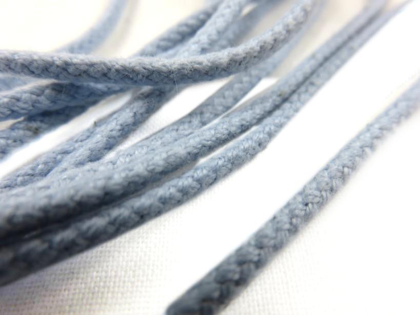 B158 Cotton Cord 3 mm light blue