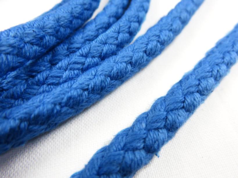 B158 Cotton Cord 8 mm blue