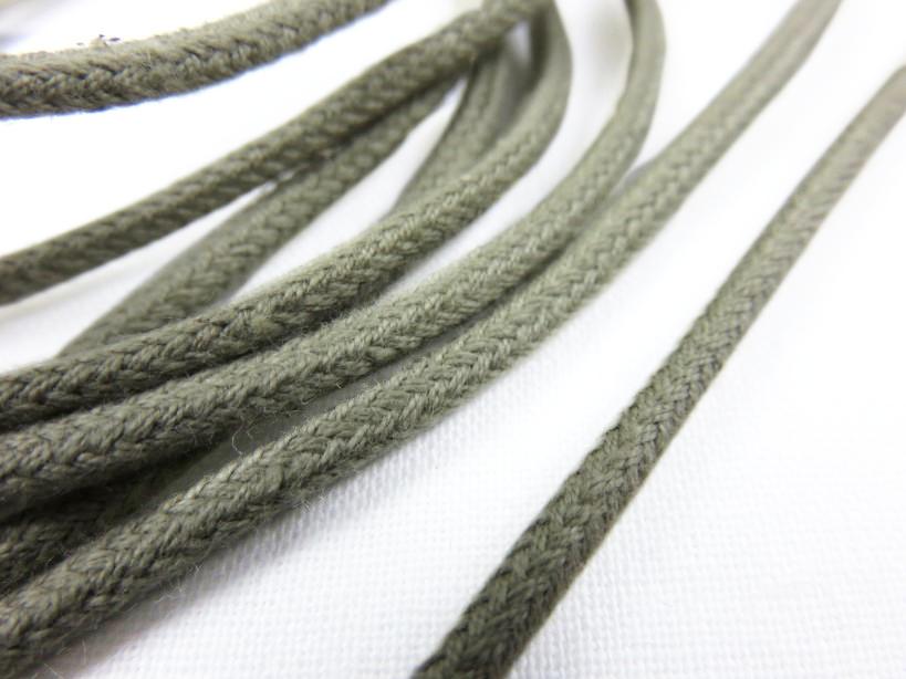 B168 Cotton Cord 3 mm dark beige