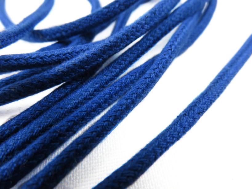 B168 Cotton Cord 3 mm royal blue