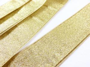 B198 Lurexband 30 mm guld