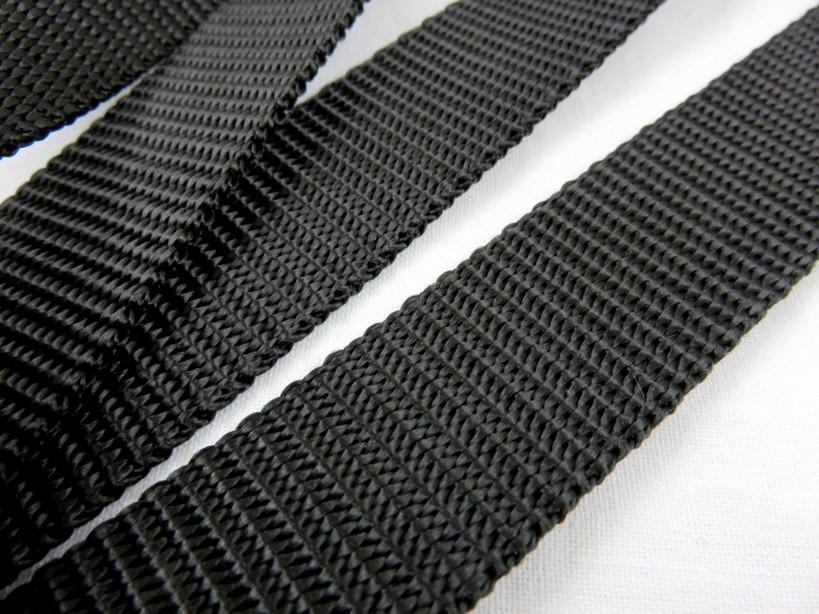 B200 Polypropylenband 25 mm svart