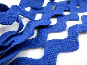 B204 Ric Rac Trim 20 mm blue