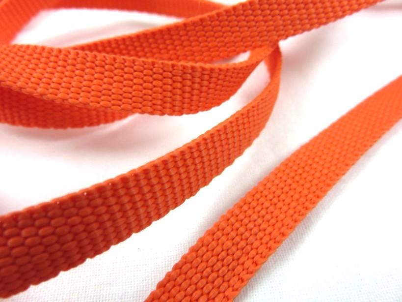 B211 Polyesterband 10 mm orange