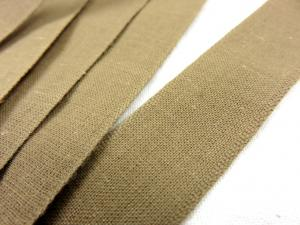 B221 Bomullsband 26 mm ljusbrun