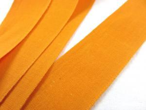 B221 Cotton Tape 28 mm orange