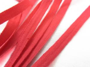 B222 Cotton Tape 5 mm coral pink